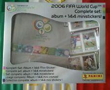 Mini album Germania 2006 sigillato panini con set completo