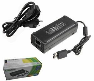 AC Brick Adapter Netzteil für Xbox 360 Slim EU Netzladegerät Kabel 135W