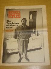 NME 1976 OCT 9 MARVIN GAYE ROD STEWART FRANK SINATRA