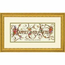 Dimensions Happily Ever After Wedding Sampler record Counted Cross Stitch Kit