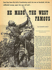 Zane Grey (Pearl Gray) he made the West Famous