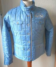 HV Polo leichte Steppjacke, blau,  Gr.L, Modell Emerson