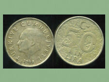 TURQUIE  50 bin lira  1998  ( bis )