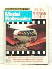 MODEL RAILROADER MAGAZINE STRUCTURES AND SCENERY RARE