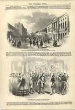1847 Royal Dublin Society Exhibition Irish Manufacturers Engraving