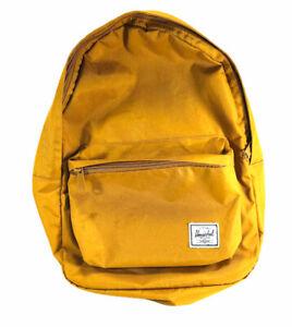 Herschel Backpack Orange Zippered School Bag