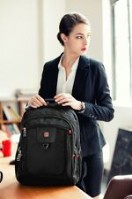 "SWISSWINSwiss Backpack/Travel Backpack/School Backpack SW8113 Black 15.6"" laptop"