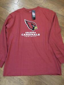Arizona Cardinals Men's Majestic Team Apparel Long Sleeve NFL Shirt Size XL NWT