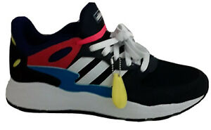 NEW! Adidas Chaos Mens 11 Cloudfoam Pop Art Colorway Blue Red EF1047 Pink Laces
