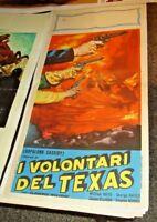 I Freiwillige Der Texas (Hopalong Cassidy) Plakat Original 1937 Boyd Hayes