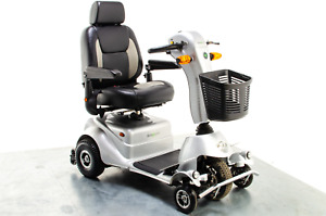 AVC Quingo Plus 8mph Used Mobility Scooter 5 Wheels Road Pavement Turning Circle