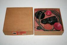 WAHL MASSAGER VIBRATOR HAND-E Electric Massage Vibrator W Attachments 1950's