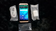 PreOwned Used HTC One M8 32GB Gold GSM Unlocked Android 4G LTE Smartphone.