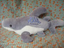 "BLUE PLANET AQUARIUM LARGE   CUDDLY TOY SHARK SOFT TOY 22"" APPROX VGC"