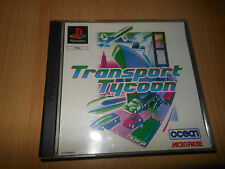 TRASPORTO Tycoon PS1 SONY PLAYSTATION 1 OTTIME COLLEZIONISTI VERSIONE PAL