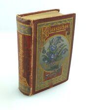 e9724 Minibuch mit Vollgoldschnitt Klassisches Vergissmeinnicht 1886 7. Auflage