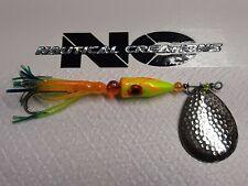 Salmon Spinners Salmon Slayer 1oz Lure Assorted Nautical Creations w/ 2/0 Mustad