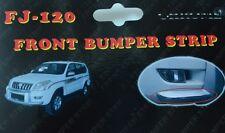 2pcs Chrome Front Bumper Guard Protective Stripe For Toyota LC Prado Fj120 03-09