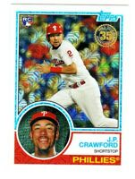 2018 Topps 35TH ANNIVERSARY 1983 SILVER PACK CHROME REFRACTOR #41 JP CRAWFORD RC