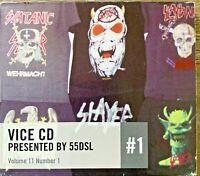 Vice Vol 11 #1 55DSL CD Black Rebel Motorcycle Club Compilation AltRock RARE