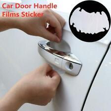4 x Unsichtbarer durchsichtiger klebender Autotürgriff Lack Kratzschutz Film