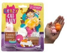 Crazy Cat Damen Starter Set Squishy Bauch Katzen Set