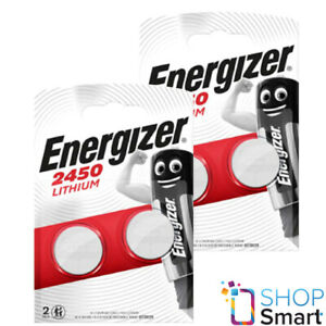 4 ENERGIZER CR2450 LITHIUM BATTERIES 3V COIN CELL DL2450 BR2450 EXP 2029 NEW