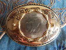A mano nel u.k.large USA dollaro americano medaglia di metallo Oro Fibbia di Cintura
