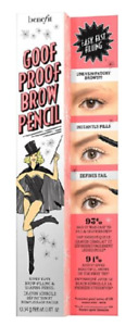 Benefit Goof Proof Brow Pencil - 4 Shades Available - New & Boxed