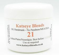 B21 Aches & Pains Treatment Cream x 50ml  -  Paraben/MEA/DEA Free