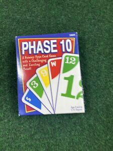 Phase 10 Vintage Card Game 2001 Classic Family Night Fun Cards