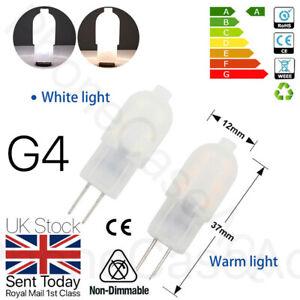 2/ 5/10 x G4 2W LED Capsule Light Bulb Replacement Lamps Halogen Bulbs 12V UK