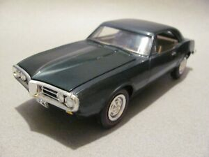 Vintage MPC 1967 Pontiac Firebird Hardtop Built Kit - Verdoro Green, Excellent!