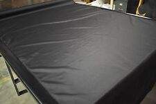 "Black Double Cloth Ripstop Nylon 60"" Wide Fabric Mil Spec DWR Coated Military"