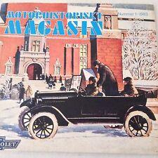 Motorhistoriskt Magasin Magazine Beaulieu 30 AR Montagus No.1 1983 071017nonrh