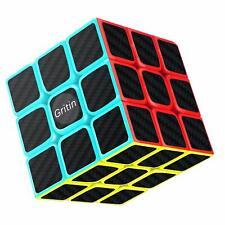 Cube Magique, Gritin 3x3x3 Speed Cube  Vitesse Magique Lisse Facile Tourner