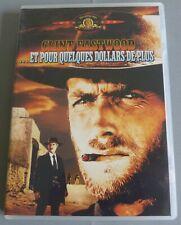 DVD PAL FILM WESTERN ET POUR QUELQUES DOLLARS DE PLUS CLINT EASTWOOD
