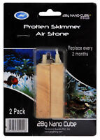 JBJ Air Stone Wooden (2-pack) Airstone for Protein Skimmer Aquarium Fish Tank