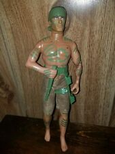 """Hasbro Action Man Jungle Dart 12"""" Doll 1999  with Blowpipe"""