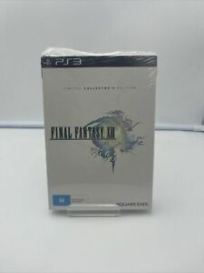 SEALED SONY PLAYSTATION 3 GAME FINAL FANTASY XIII LIMITED COLLECTORS EDITION