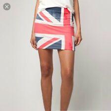 NEW Bershka (Zara group) British Flag UK Skirt Size S. New with tags. Falda