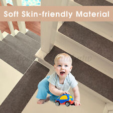 45x20cm Non-slip Stair Treads Mat Step Staircase Protection Cover Carpet Pads