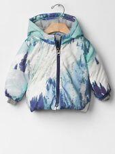GAP Baby Boys Size 6-12 Months Snow Mountain Skiing Jacket Puffer Coat w/Hood