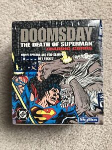Doomsday The Death of Superman Trading Cards 1992 SkyBox / DC Brand New Sealed