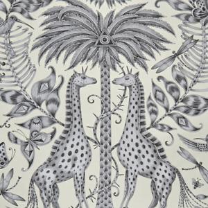 Kruger wallpaper by Designer Emma J Shipley Animalia | Gold and Monochrome