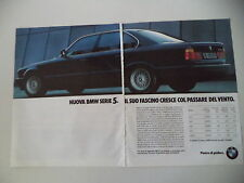 advertising Pubblicità 1988 BMW 535 I