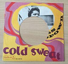 "SOLO COPERTINA FORATA RARO 7"" 45 GIRI ITALY JAMES BROWN COLD SWEET 1966 DURIUM"