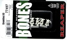 Reaper 77497 Bones Gremlins [4] Miniatures Goblin Warriors Fantasy Monsters NIB