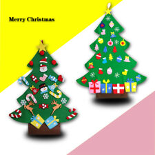 Felt Christmas Tree Set with Ornaments Xmas Gift Door Wall Hanging Decor 3ft New