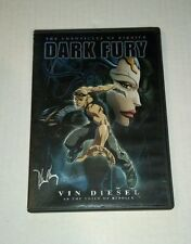 The Chronicles of Riddick - Dark Fury (Dvd, 2004) Peter Chung Artwork